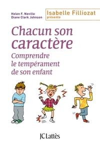 CHACUN SON CARACTERE