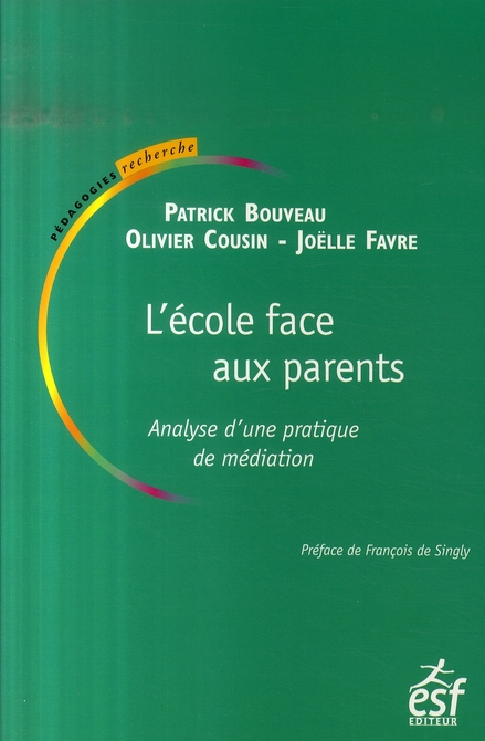 L ECOLE FACE AUX PARENTS NED