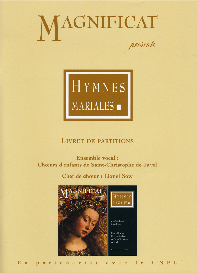 PARTITIONS / HYMNES MARIALES