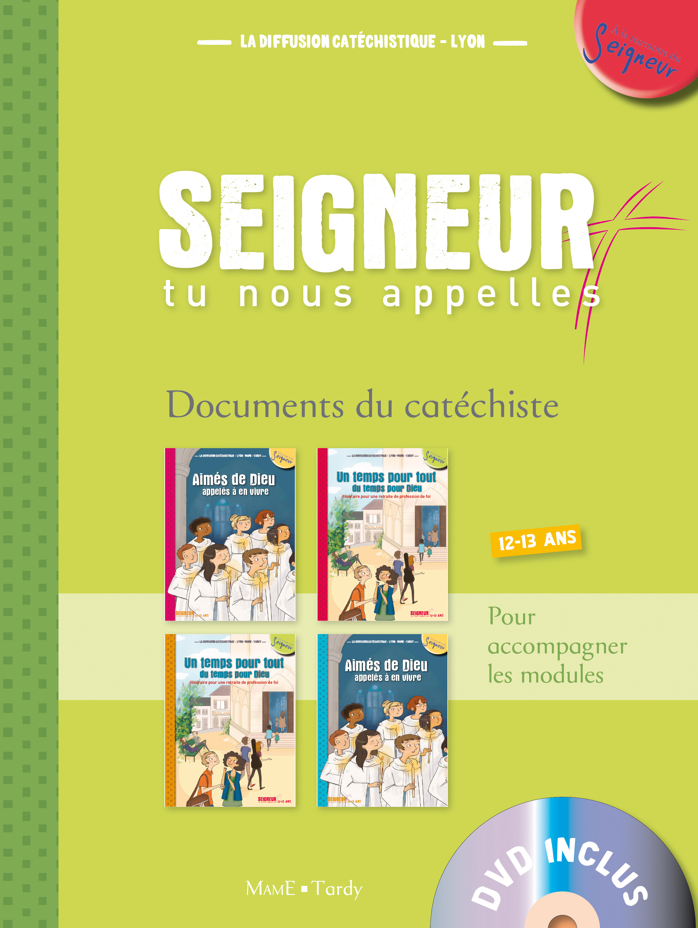 12-13 ANS - DOCUMENTS DE L'ANIMATEUR VERT + DVD - MODULES 1 A 4