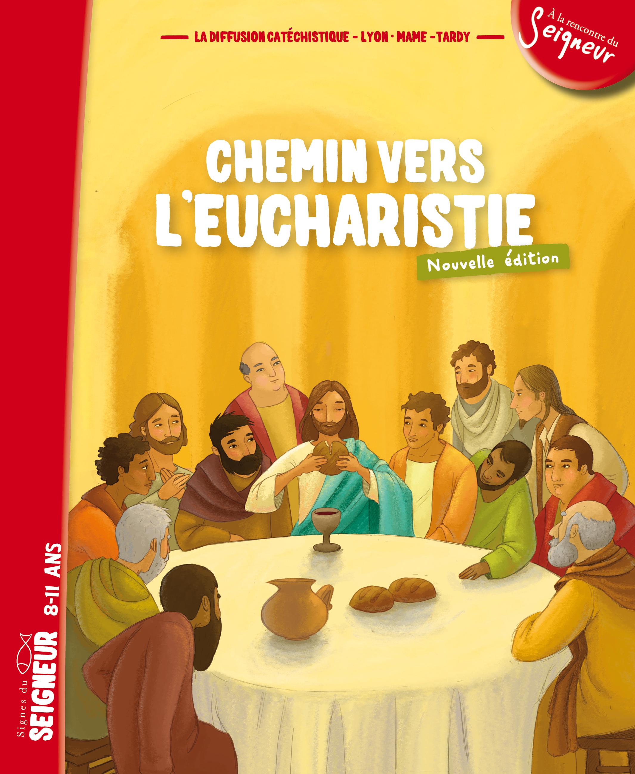 CHEMIN VERS L'EUCHARISTIE - LIVRET ENFANT (8-11 ANS) - N1