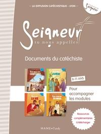 8-11 ANS - DOCUMENTS DU CATECHISTE MARRON (+ DVD) - MODULES 9 A 12 - NE