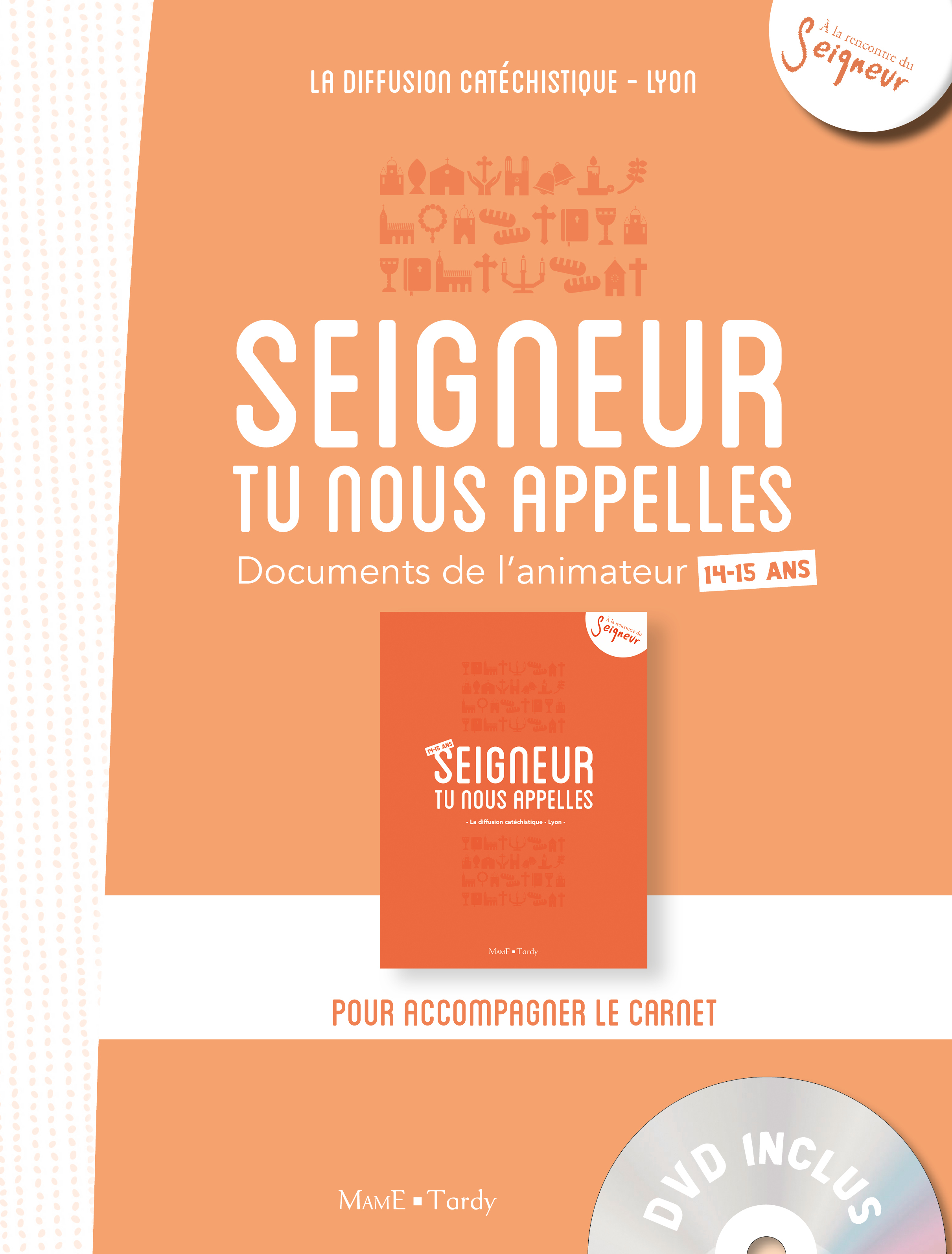 14-15 ANS - DOCUMENT ANIMATEUR + DVD / ORANGE