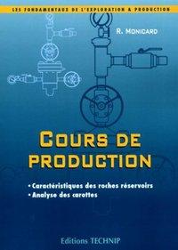 COURS DE PRODUCTION, 1