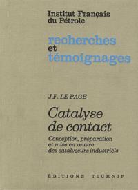 CATALYSE DE CONTACT