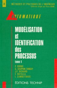 MODELISATION ET IDENTIFICATION DES PROCESSUS T 1