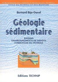 GEOLOGIE SEDIMENTAIRE
