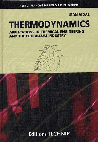 THERMODYNAMICS, APPLICATIONS IN CHEMICAL