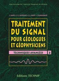 TRAITEMENT DU SIGNAL POUR GEOLOGUE ET GEOPHYSICIENS - T3