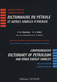DICTIONNAIRE DU PETROLE ET AUTRES SOURCES D'ENERGIE