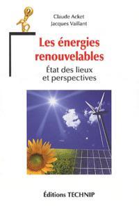 ENERGIES RENOUVELABLES - ETAT DES LIEUX