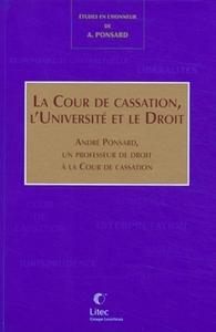 LA COUR DE CASSATION, L'UNIVERSITE ET LEDROIT