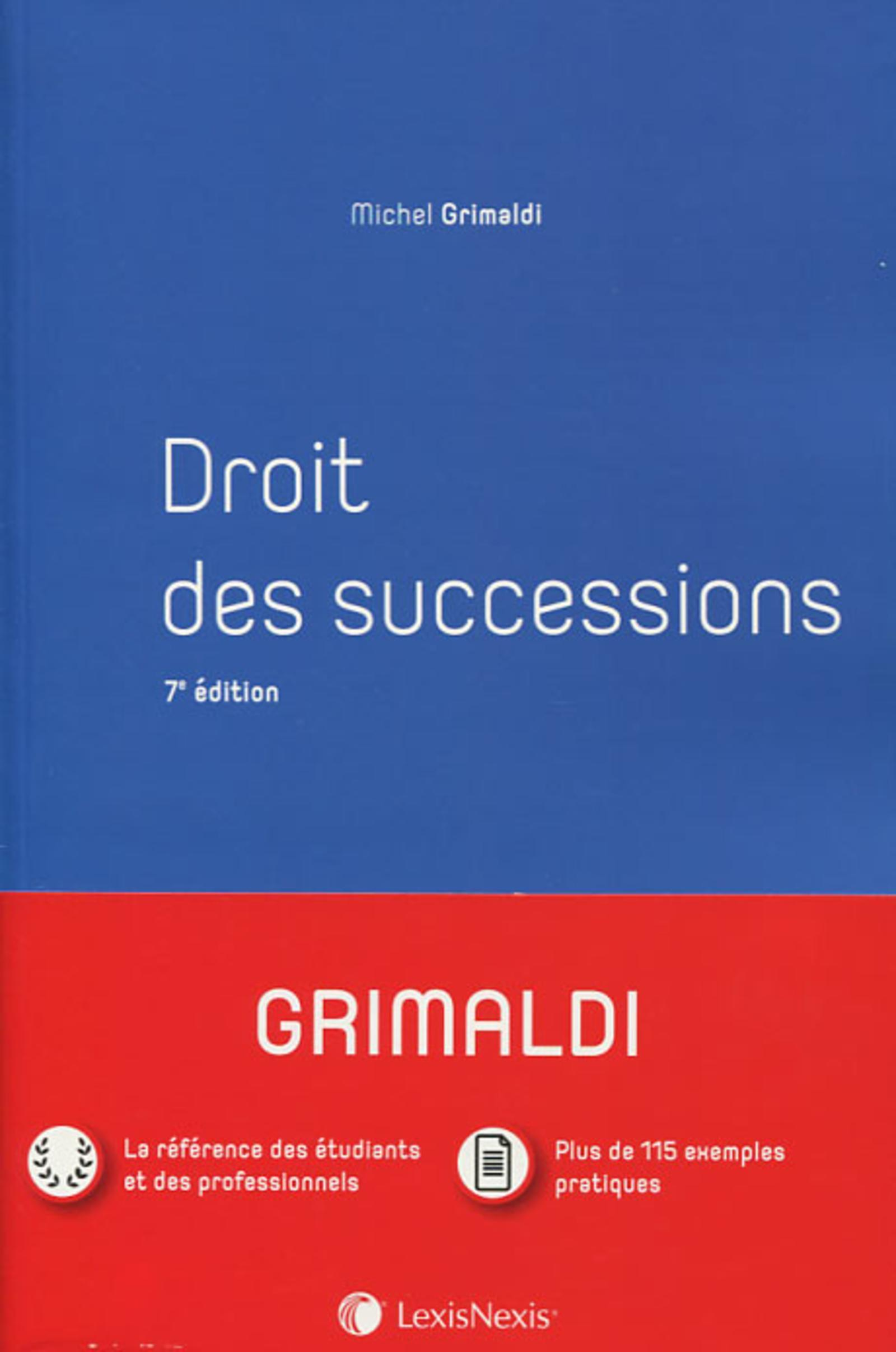 DROIT CIVIL - SUCCESSIONS - MANUEL