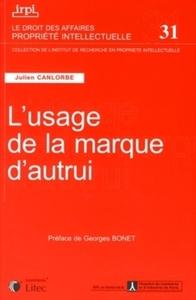 L'USAGE DE LA MARQUE D'AUTRUI -  31