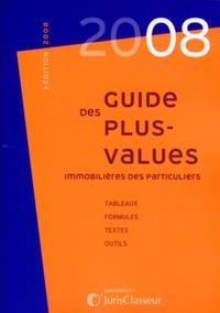 GUIDE DES PLUS VALUES IMMOBILIERES DES PARTICULIERS