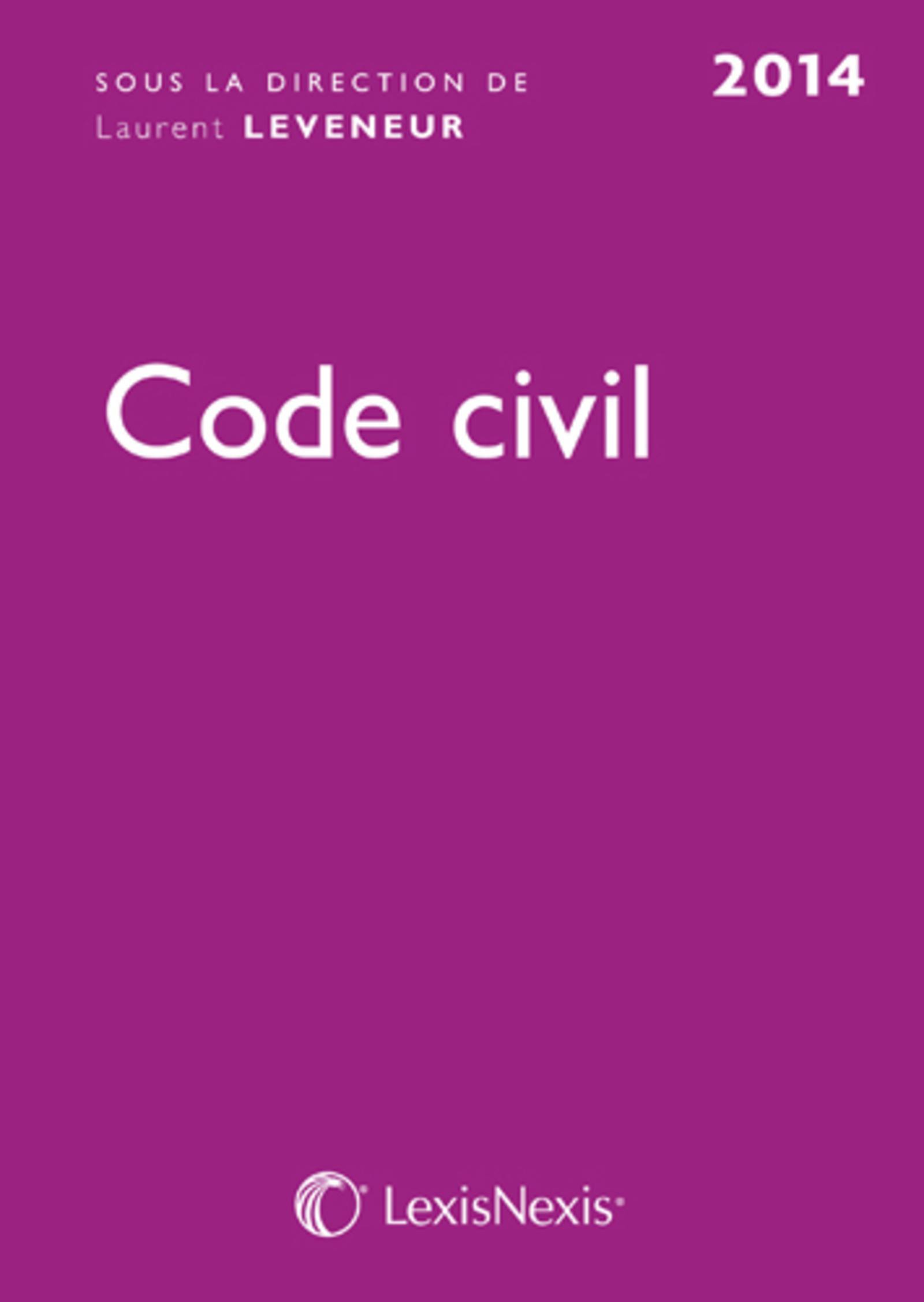 CODE CIVIL 2014 ROSE