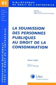 LA SOUMISSION DES PERSONNES PUBLIQUES DE LA CONSOMMATION N  82
