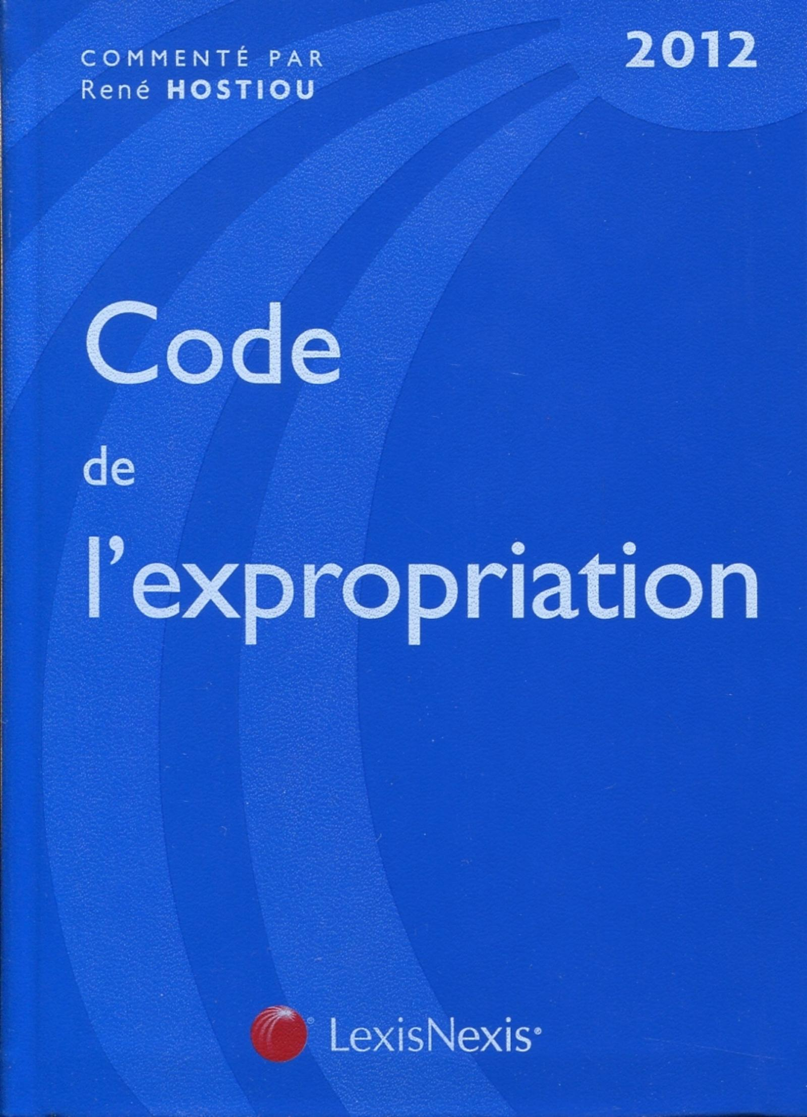 CODE DE L'EXPROPRIATION 2012