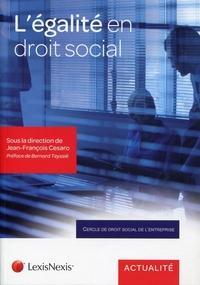 L'EGALITE EN DROIT SOCIAL