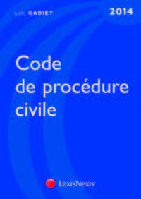 CODE DE PROCEDURE CIVILE 2014
