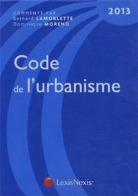CODE DE L'URBANISME 2013