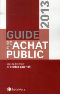 GUIDE DE L'ACHAT PUBLIC 2013