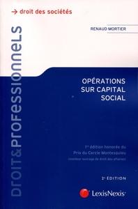 OPERATIONS SUR CAPITAL SOCIAL