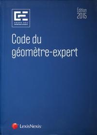 CODE DU GEOMETRE EXPERT 2015