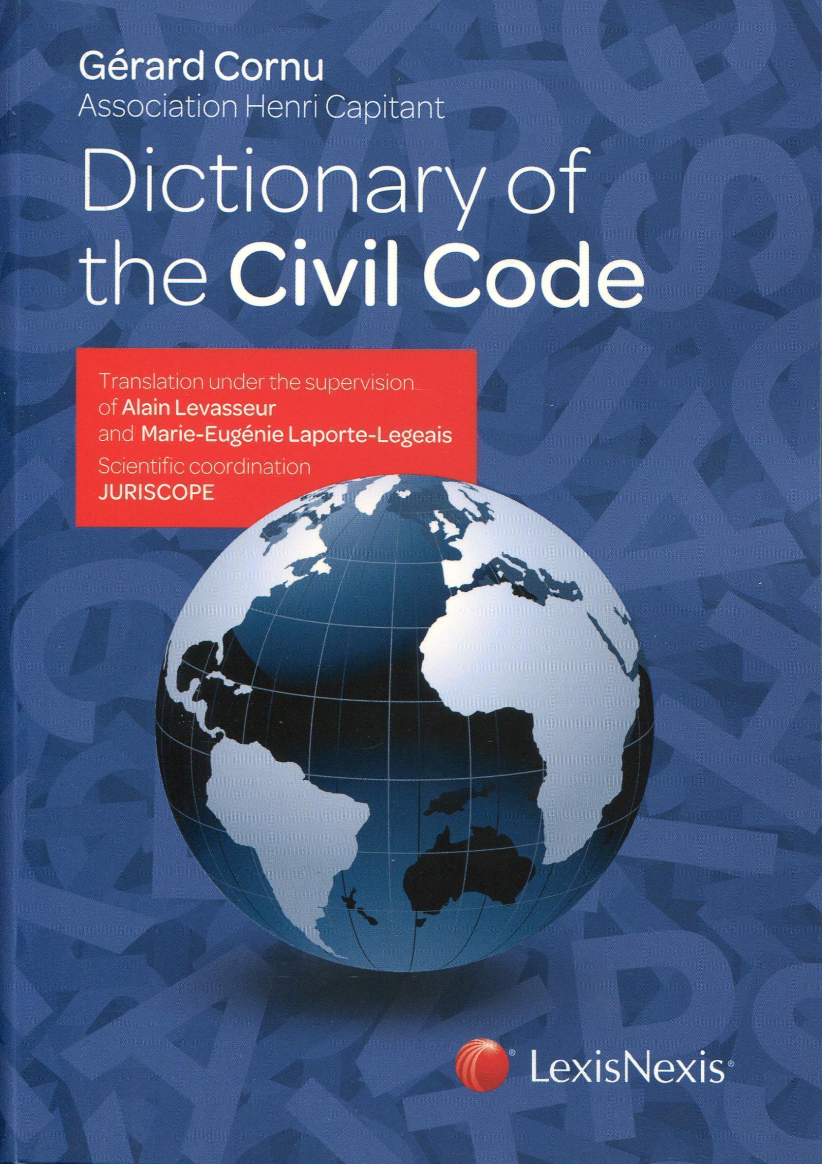 DICTIONARY OF THE CIVIL CODE