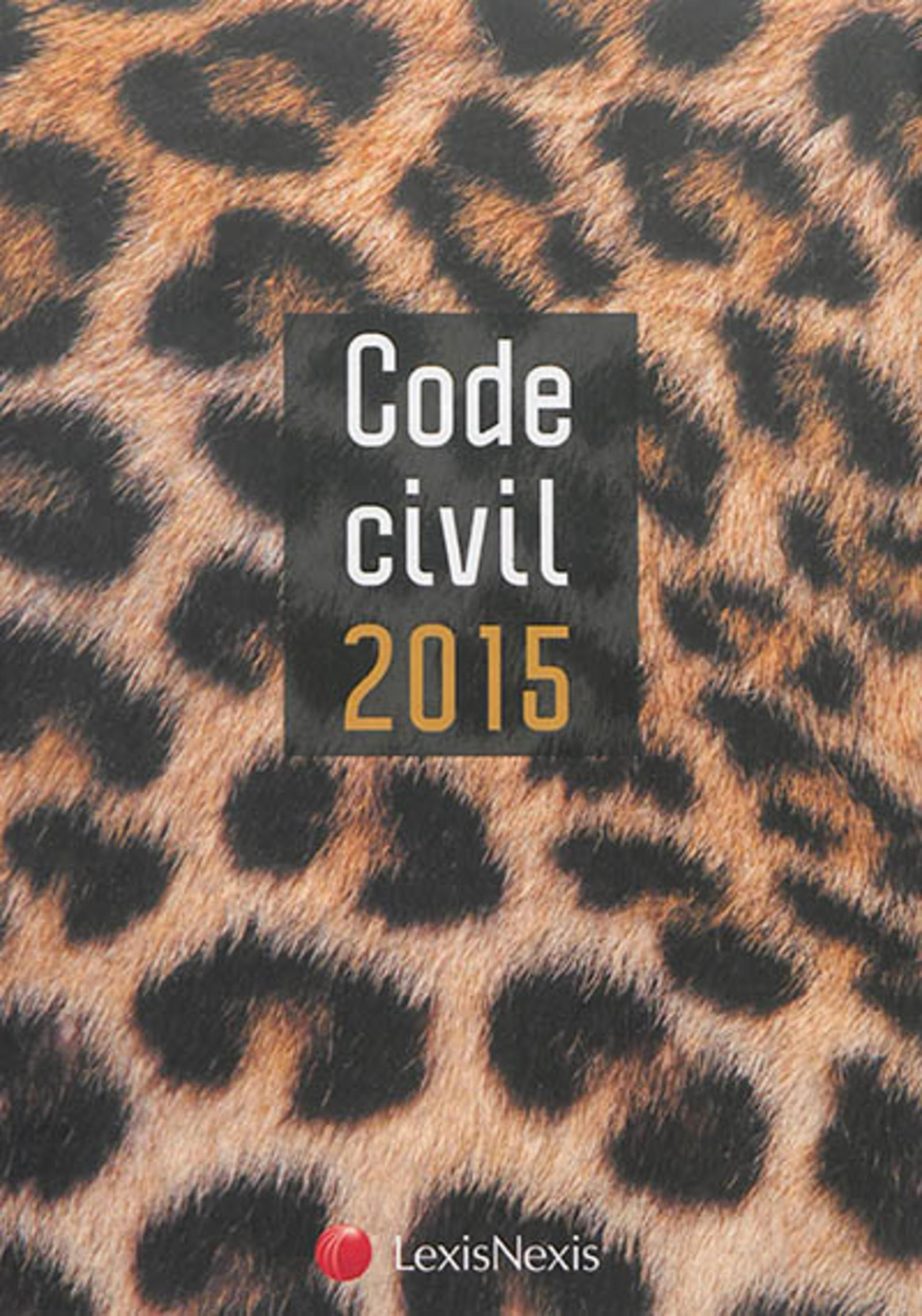 CODE CIVIL 2015 PANTHERE