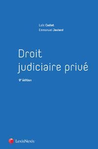 DROIT JUDICIAIRE PRIVE