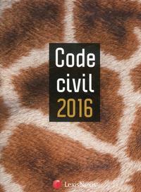 CODE CIVIL 2016  JAQUETTE GIRAFE - 35E TIRAGE