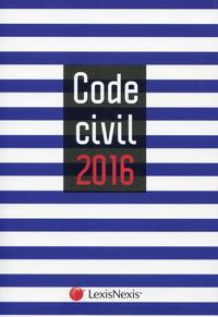 CODE CIVIL 2016  JAQUETTE MARIN - 35E TIRAGE