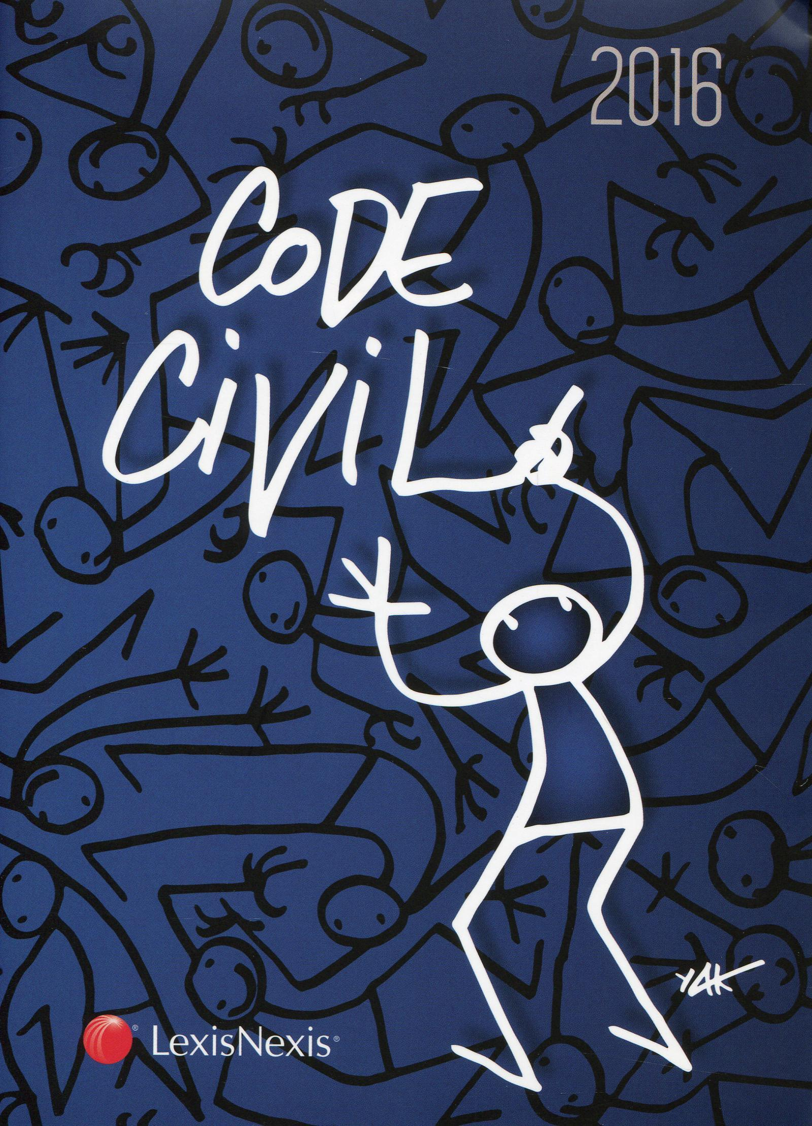 CODE CIVIL 2016 JAQUETTE ELYX - 35E TIRAGE