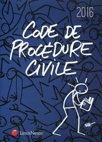 CODE DE PROCEDURE CIVILE 2016  JAQUETTE ELYX - 29E EDITION