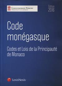 CODE MONEGASQUE 2016