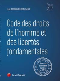CODE DES DROITS DE L HOMME ET DES LIBERTES FONDAMENTALES 2017