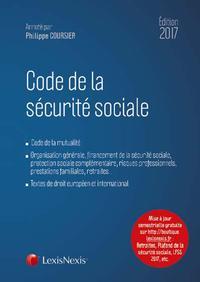 CODE DE LA SECURITE SOCIALE 2017