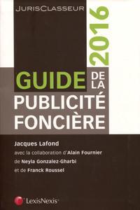GUIDE DE LA PUBLICITE FONCIERE 2016