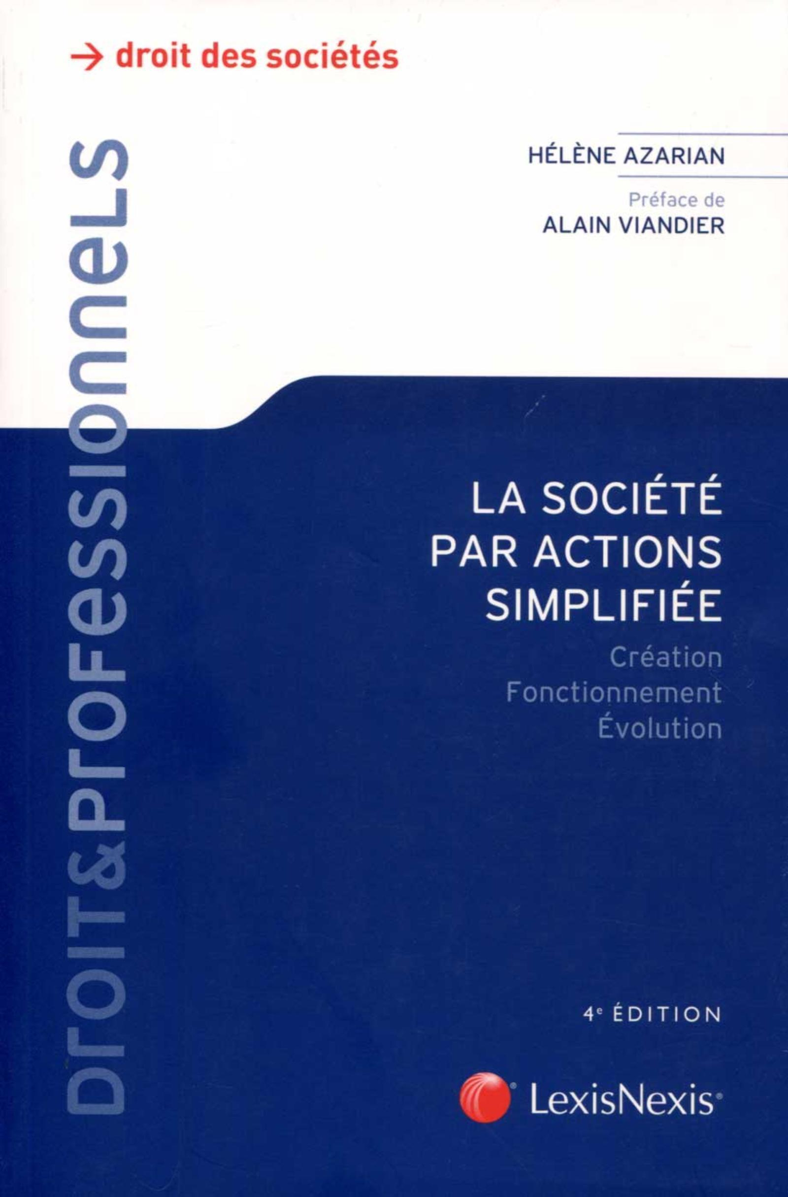 LA SOCIETE PAR ACTION SIMPLIFIEE