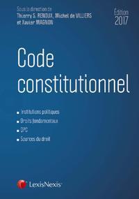 CODE CONSTITUTIONNEL 2017
