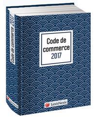 CODE DE COMMERCE 2017 JAQUETTE GRAPHIK BLEU - VERSION EBOOK INCLUSE