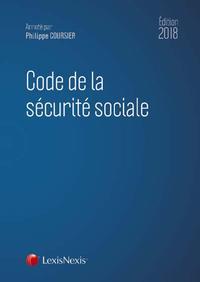 CODE DE LA SECURITE SOCIALE 2018