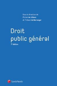DROIT PUBLIC GENERAL