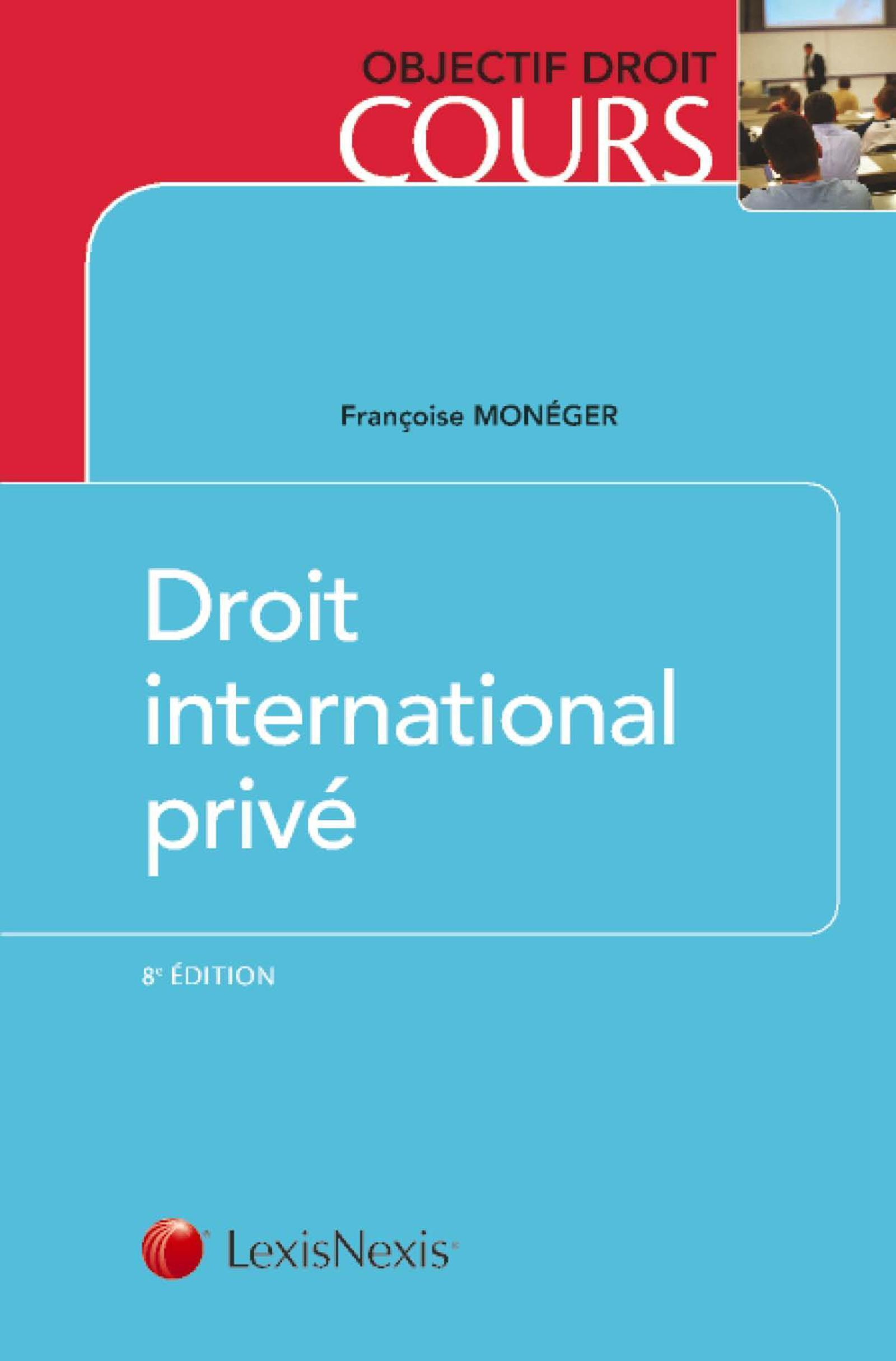 DROIT INTERNATIONAL PRIVE