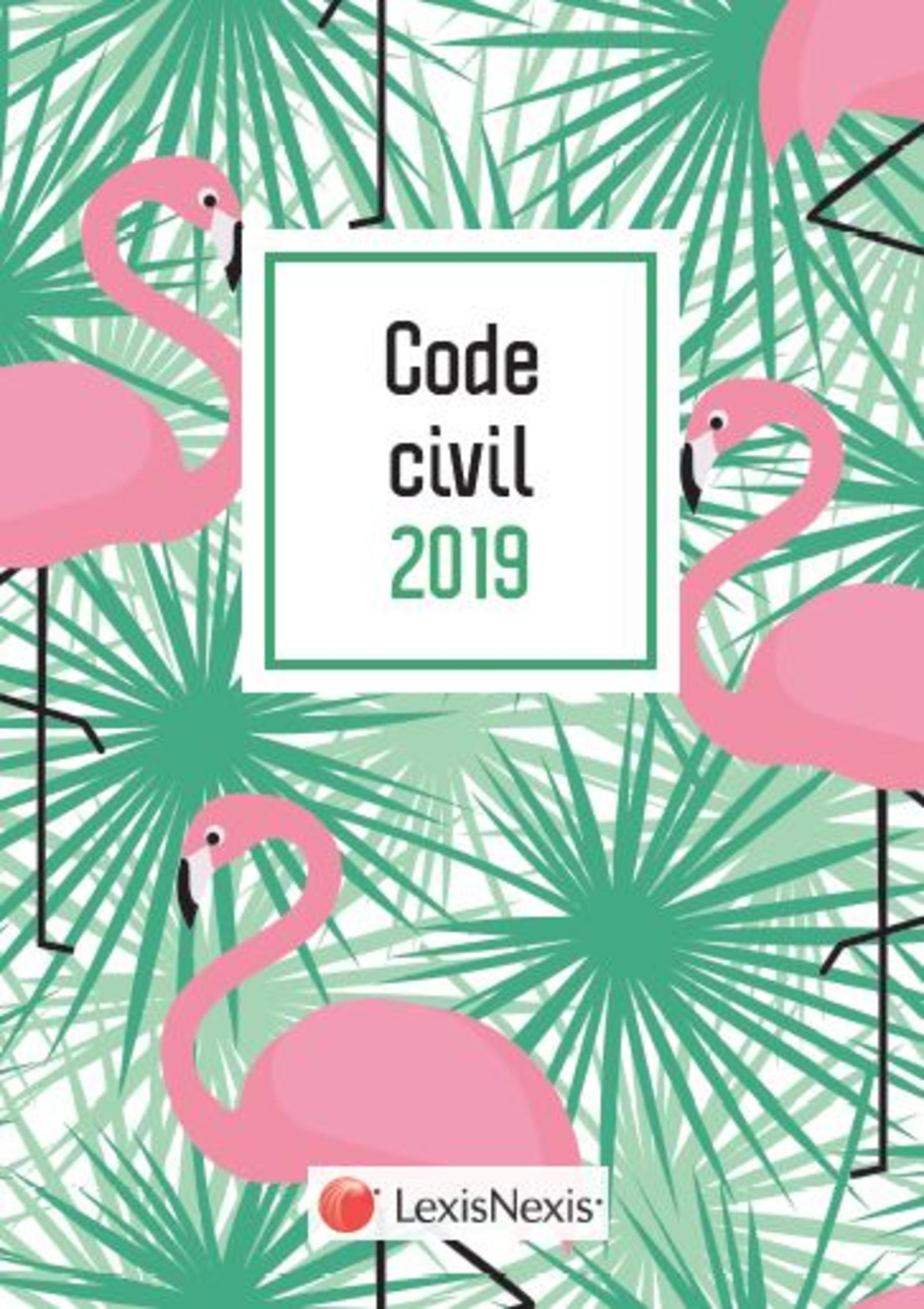 CODE CIVIL 2019 FLAMANT ROSE