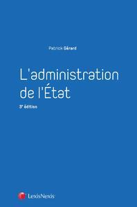 L'ADMINISTRATION DE L'ETAT