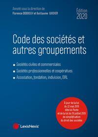 CODE DES SOCIETES ET AUTRES GROUPEMENTS 2020 - SOCIETES CIVILES ET COMMERCIALES. SOCIETES PROFESSION