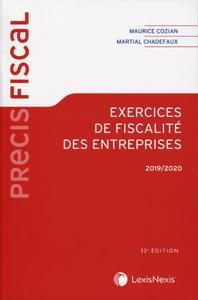 EXERCICES DE FISCALITE DES ENTREPRISES 2019/2020