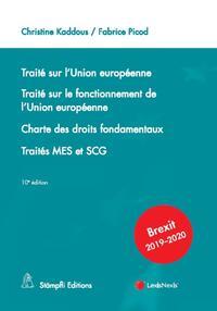 TRAITE SUR L'UNION EUROPEENNE - TRAITE SUR LE FONCTIONNEMENT DE L'UNION EUROPEENNE - CHARTE DES DROI